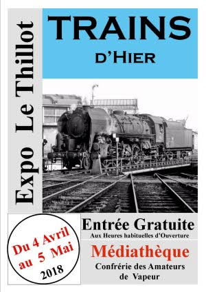 Illustration trains d hier